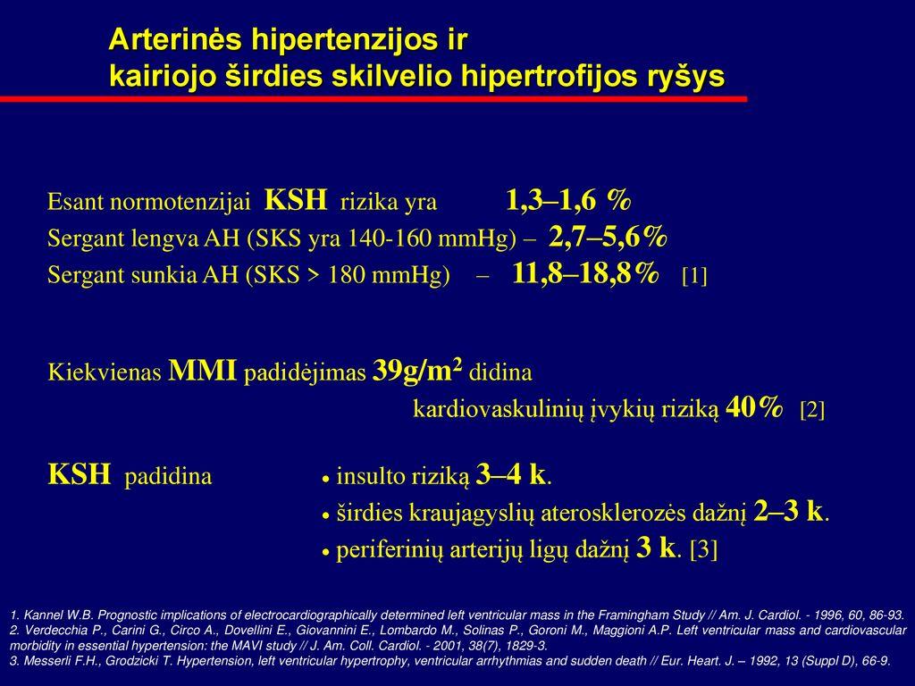 hipertenzija 2 2 laipsnio laipsnis
