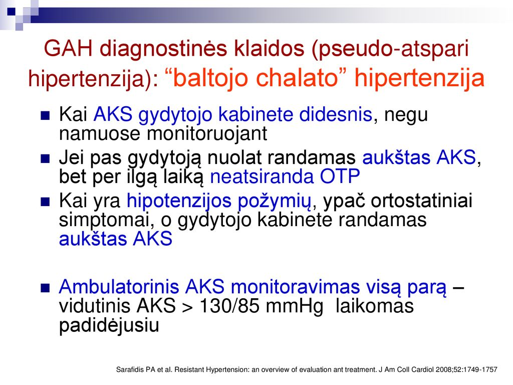 hipertenzijos užduotys