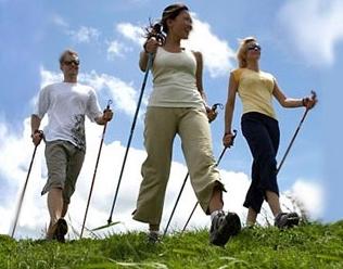 ar galima praktikuoti šiaurietišką ėjimą su hipertenzija