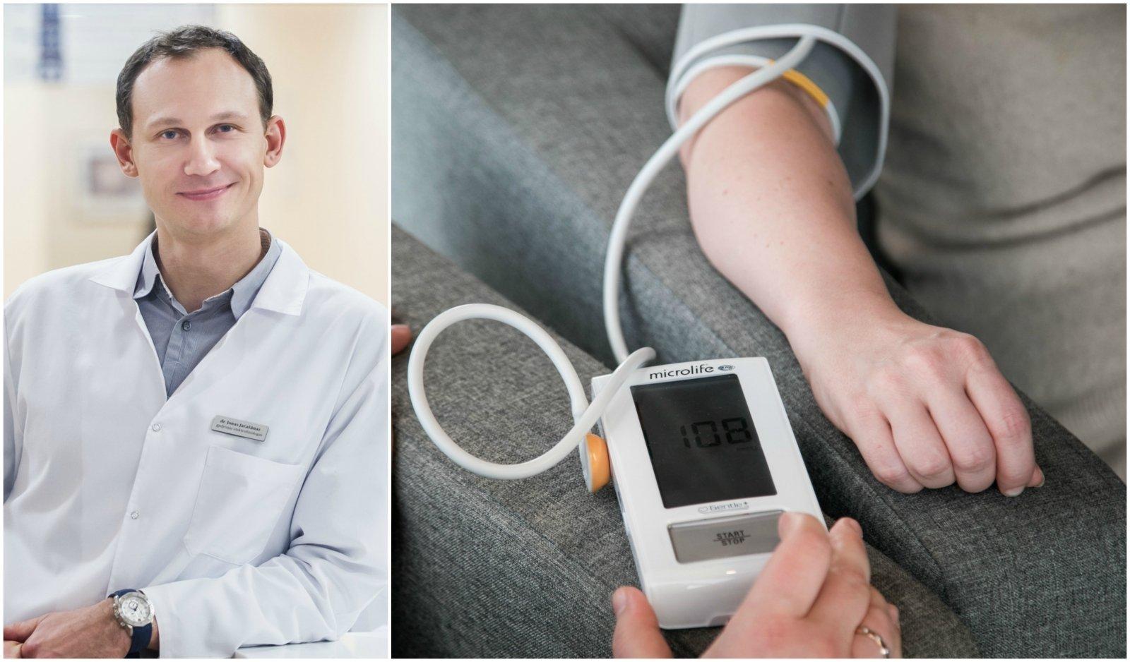 fizioterapinis hipertenzijos gydymas sergant hipertenzija, skauda pilvą