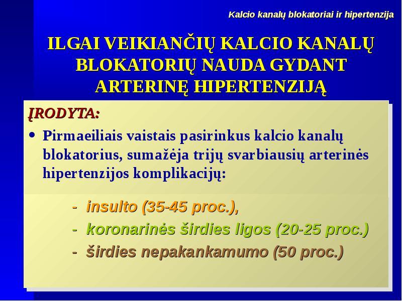 hipertenzija gydo PSO