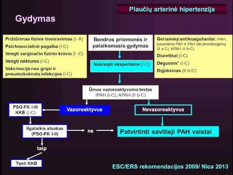 PSO duomenys apie hipertenzijos hipertenziją