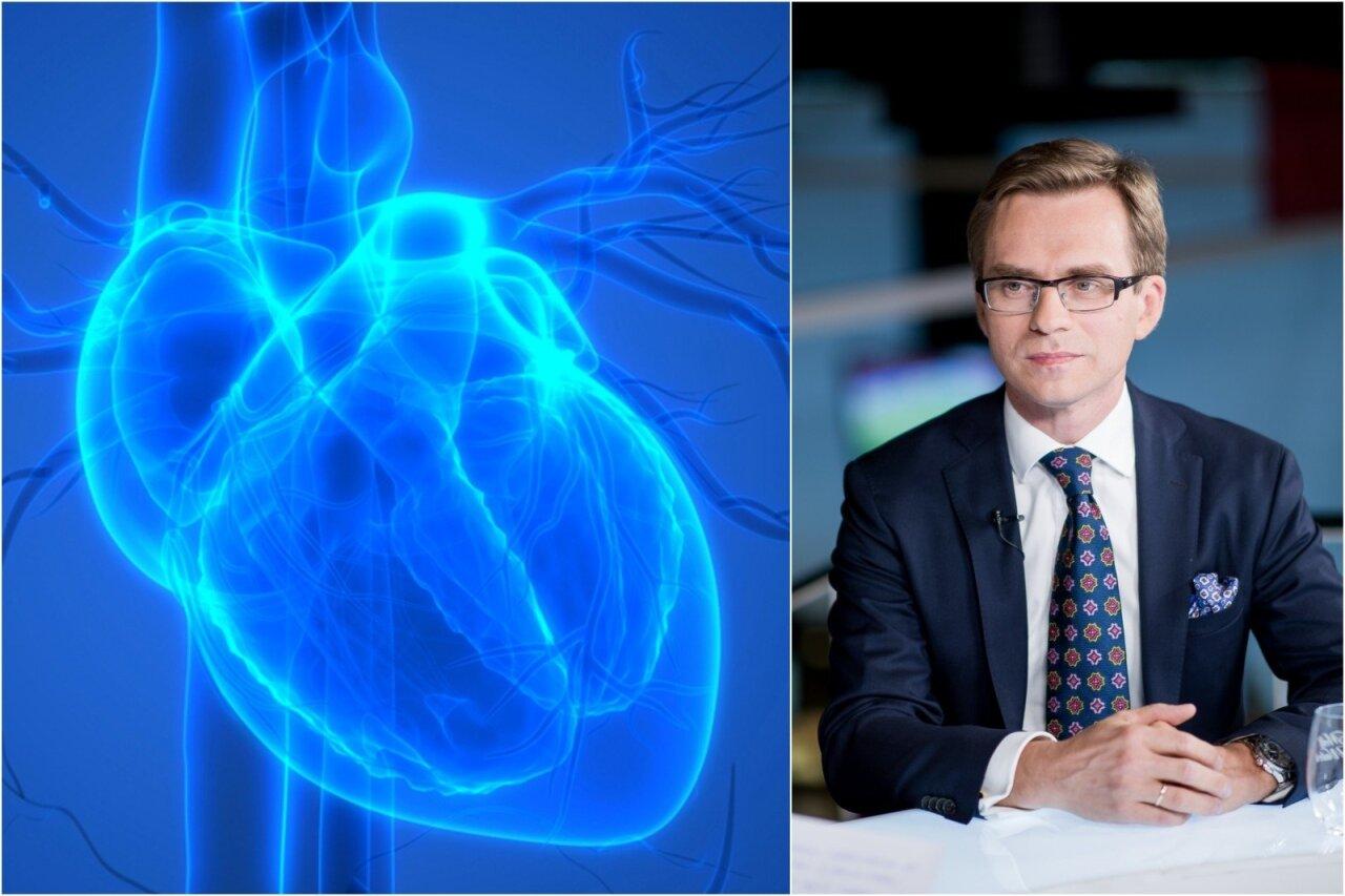 kolito širdis su hipertenzija