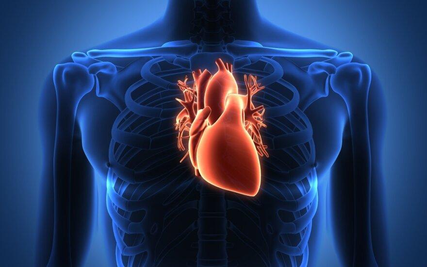 7 minutės bėgimo širdies sveikatai dugno tyrimas dėl hipertenzijos