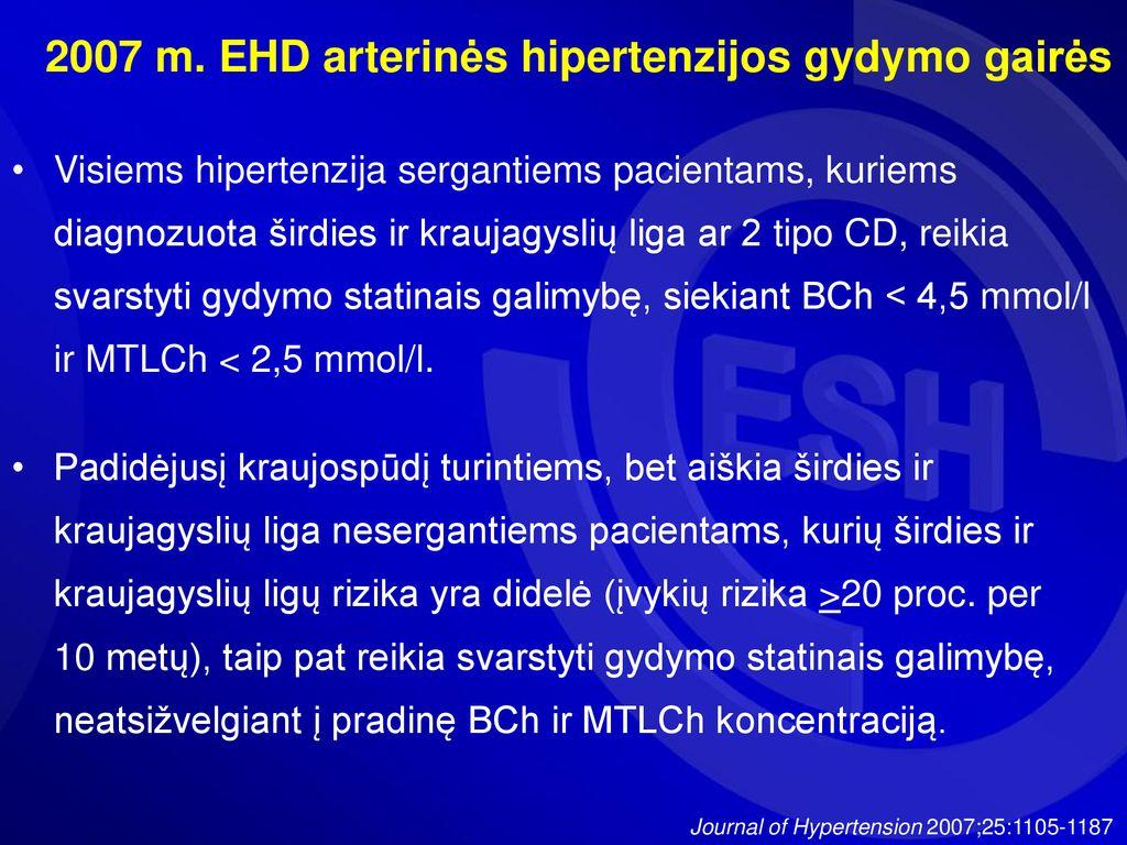 2 tipo hipertenzijos gydymas saulė ir hipertenzija