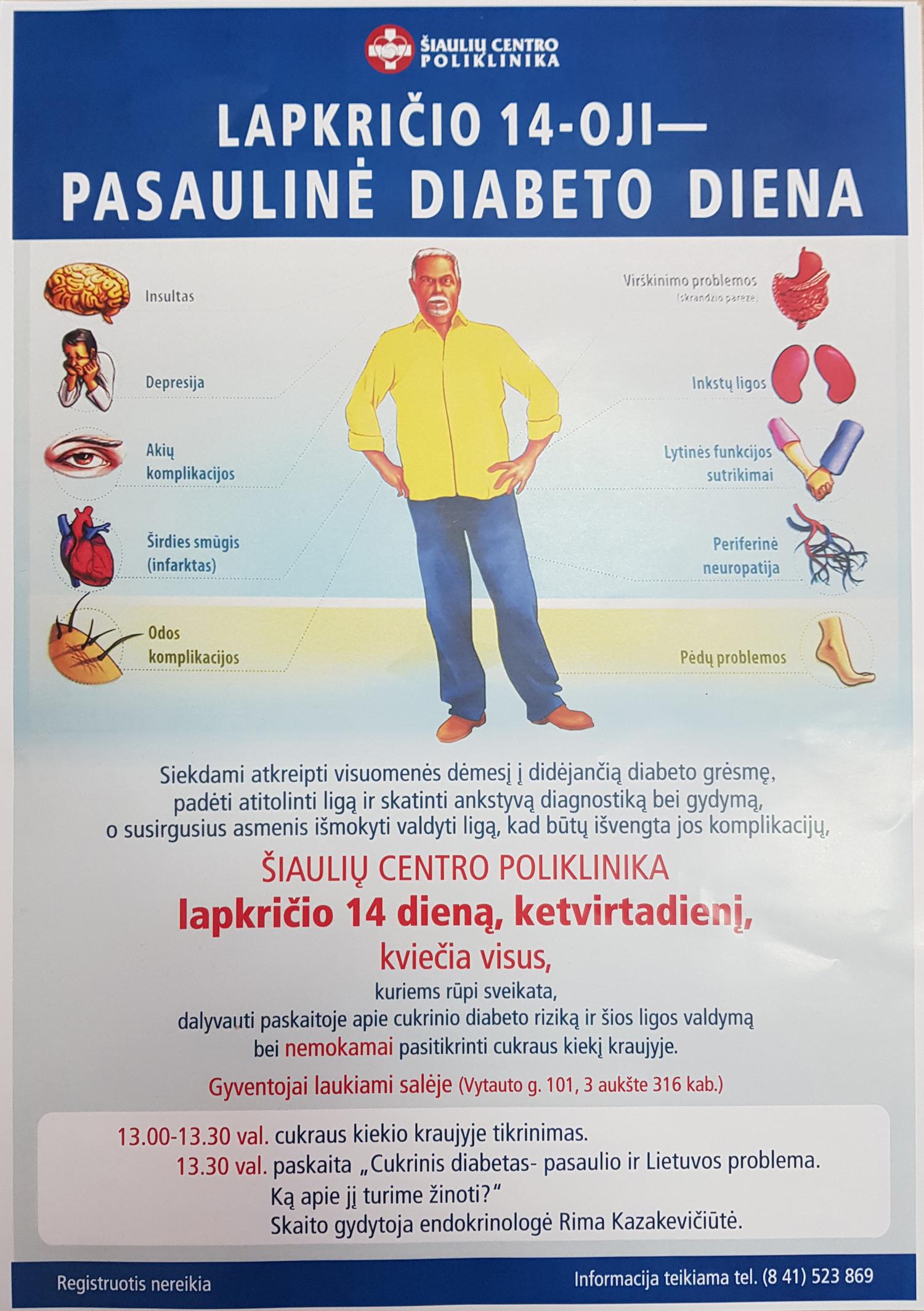 hipertenzija cukrinio diabeto fone vaistas kraujospūdžiui normalizuoti esant hipertenzijai