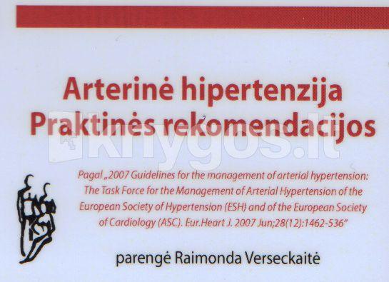 negydoma hipertenzija