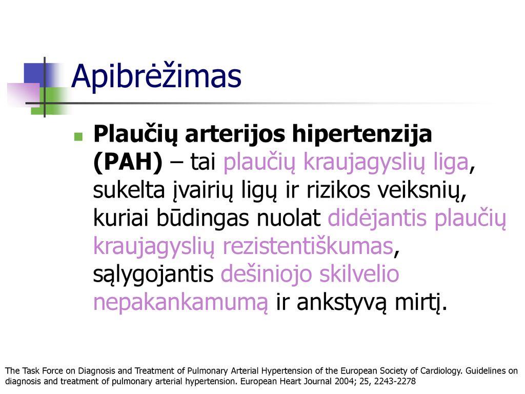 kraujagyslių nepakankamumo hipertenzija