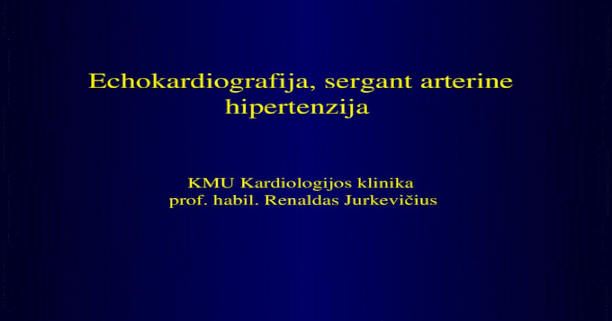 hipertenzijos liga u k forma kojų patinimas su hipertenzija