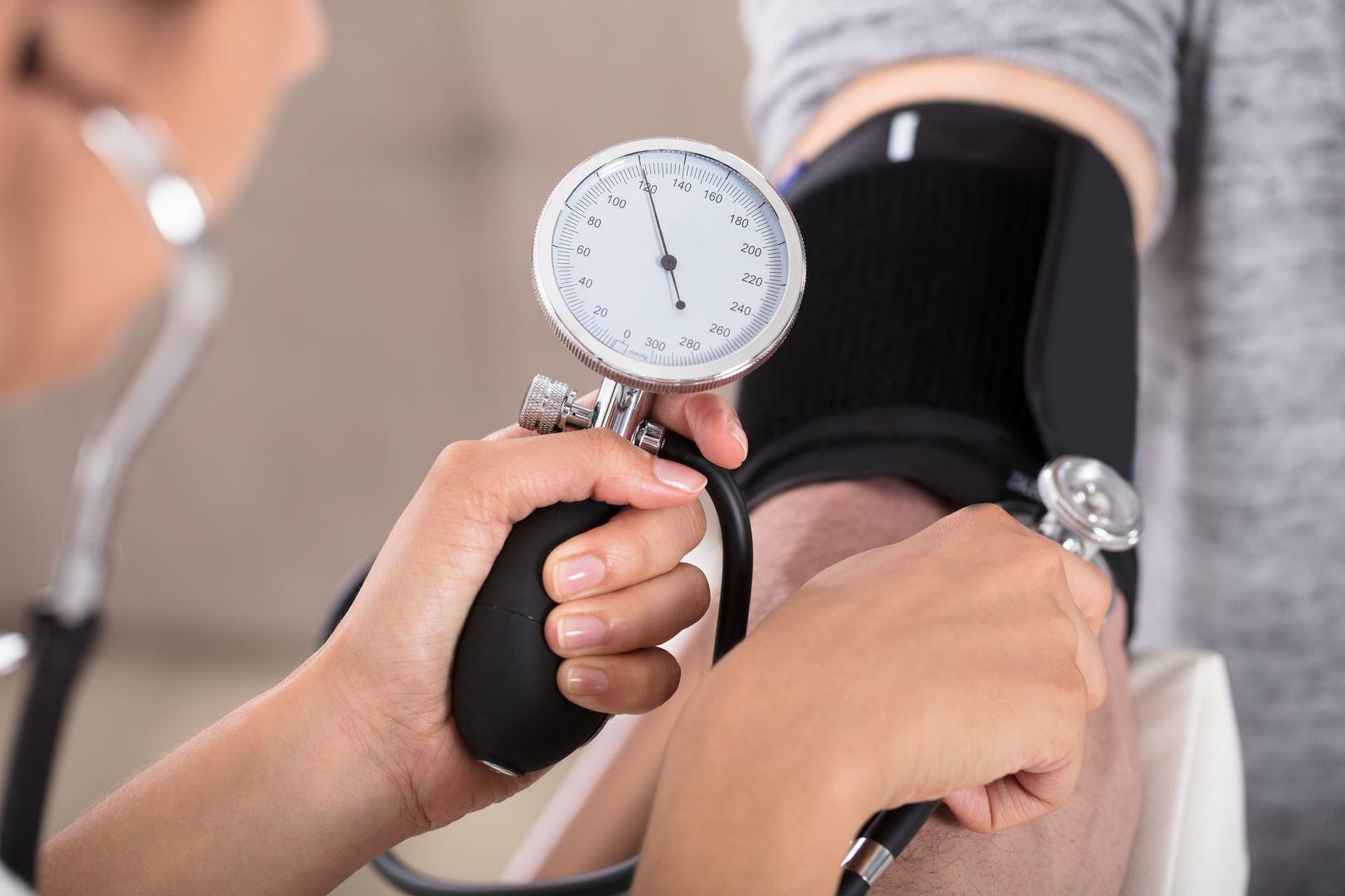 hipertenzijos nepakanka