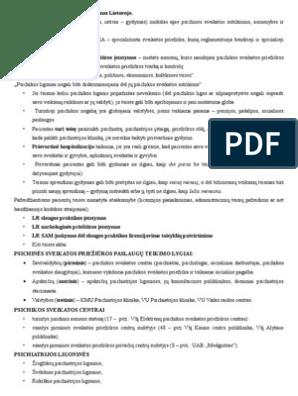 Parkinsonizmas - Psichoterapija November