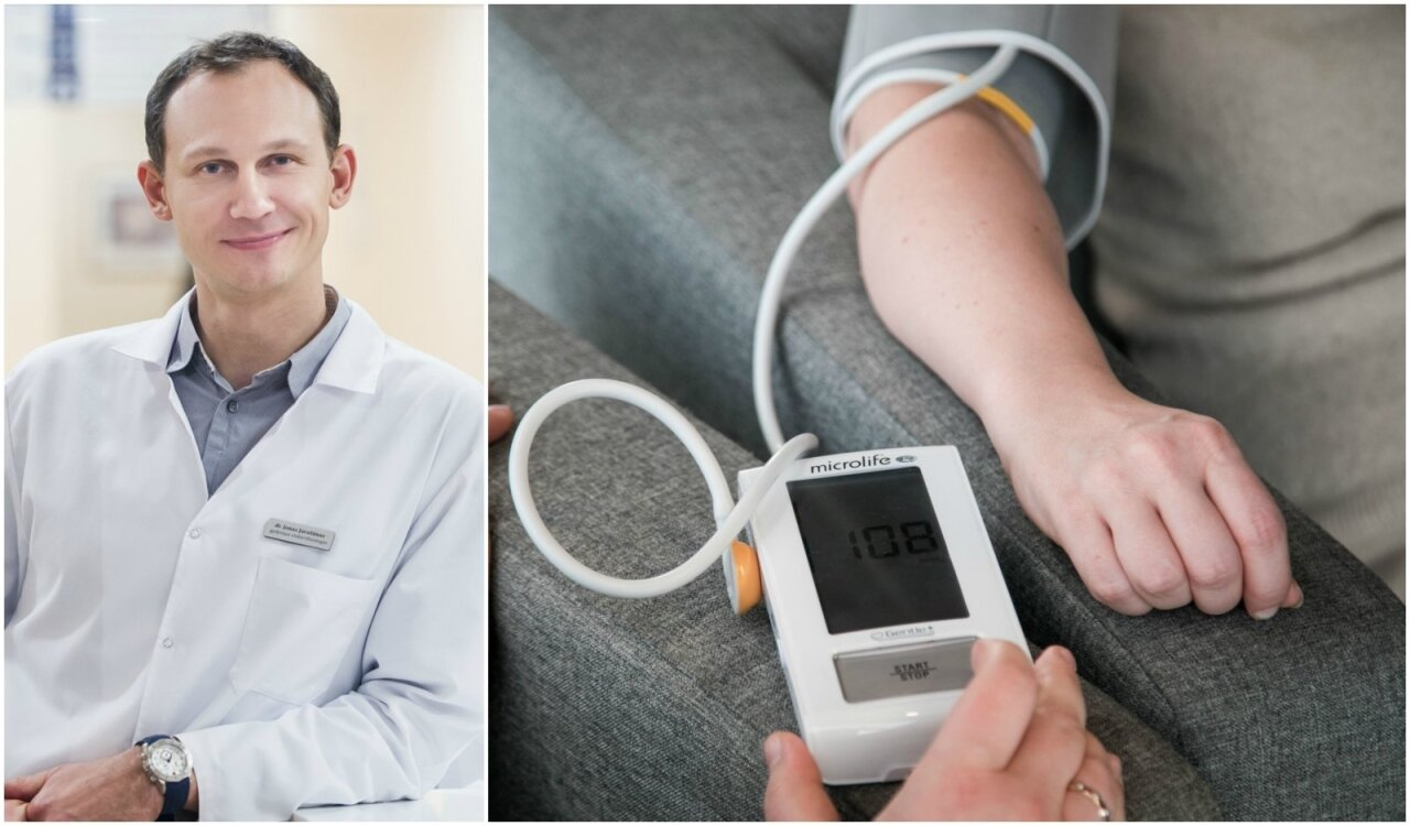 laboratorinių duomenų apie hipertenziją bėgimas ir hipertenzija, kai prasideda gijimas