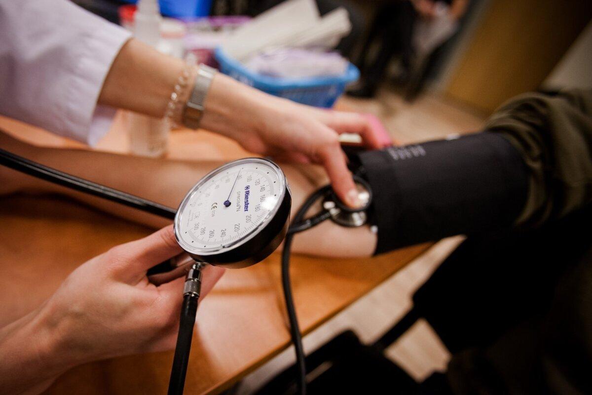hipertenzijos atsiradimas