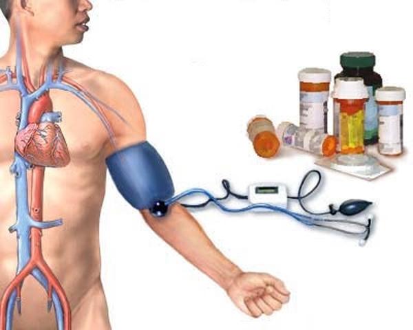 hipertenzija ir alternatyvi medicina