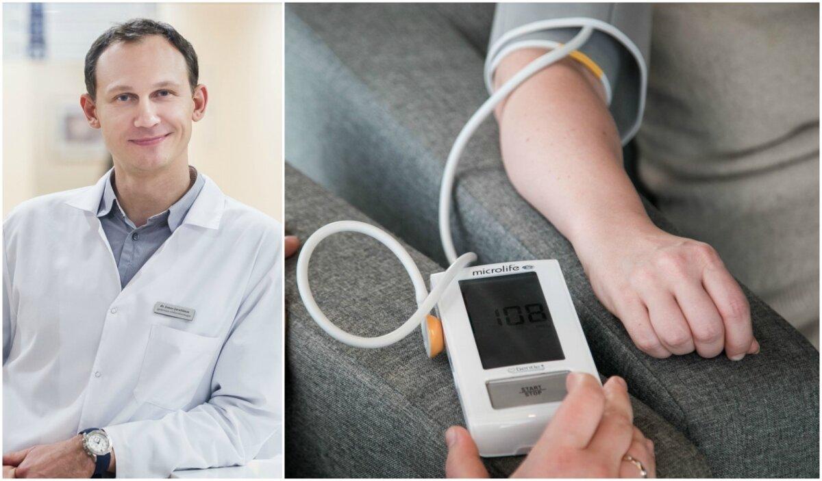 sergantiems hipertenzija draudžiama