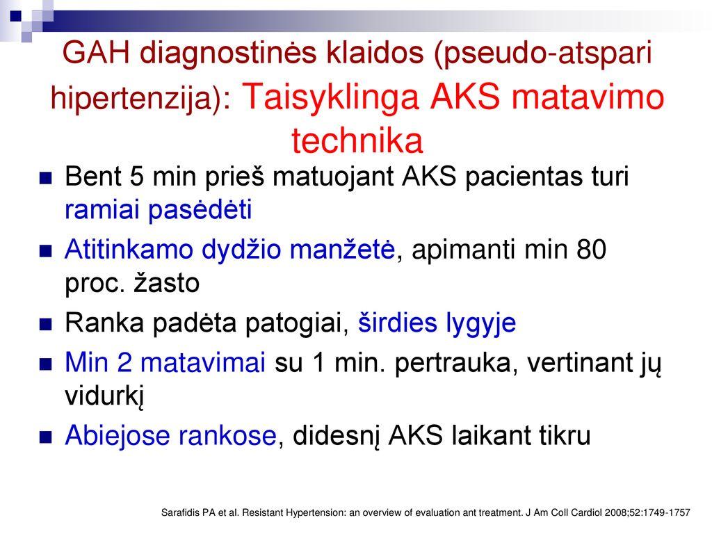 Arterinė hipertenzija (Padidėjęs kraujo spaudimas) | medikana.lt