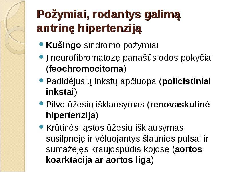 hipertenzija su Raynaudo sindromu prieširdžių hipertenzija