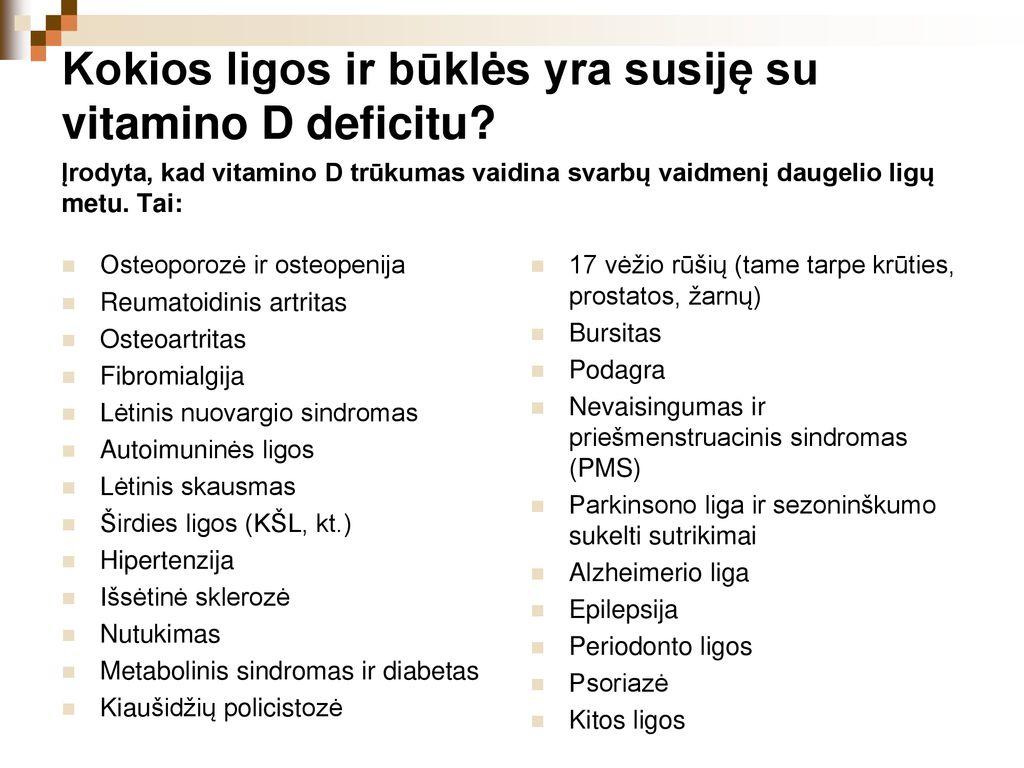 hipertenzija vitaminų trūkumas hipertenzija 3 ŠKL rizika 4