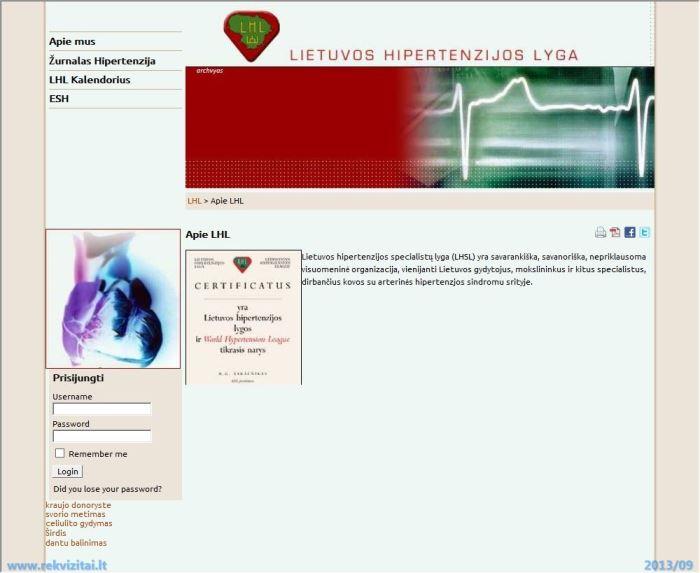 hipertenzija, kaip sumažinti kraujospūdį